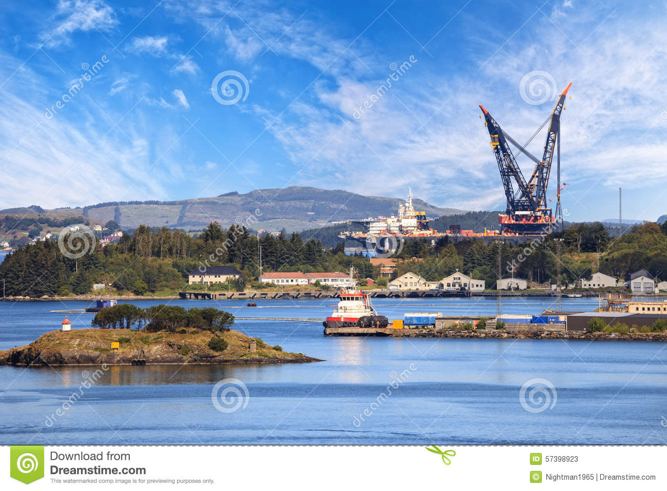 Coast Of Norway Stock Image Image Of Rock Ocean Hill