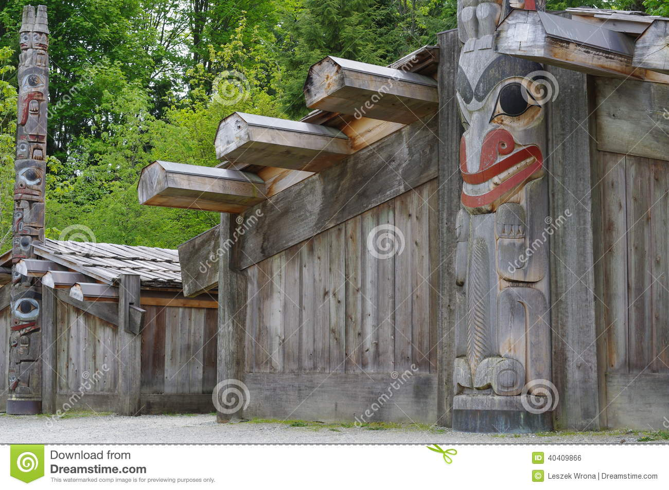 Coast Salish Long House