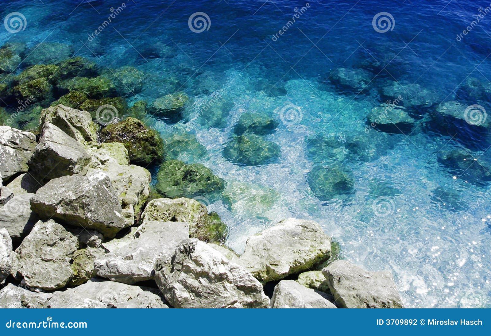 Coast of the sea