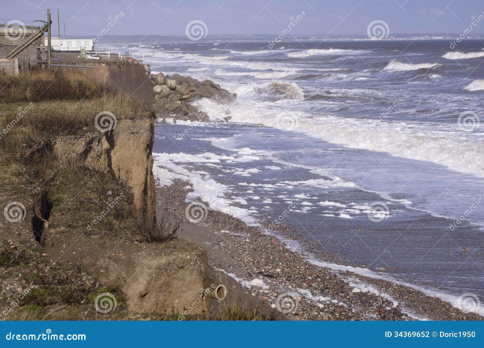 Küstenerosion