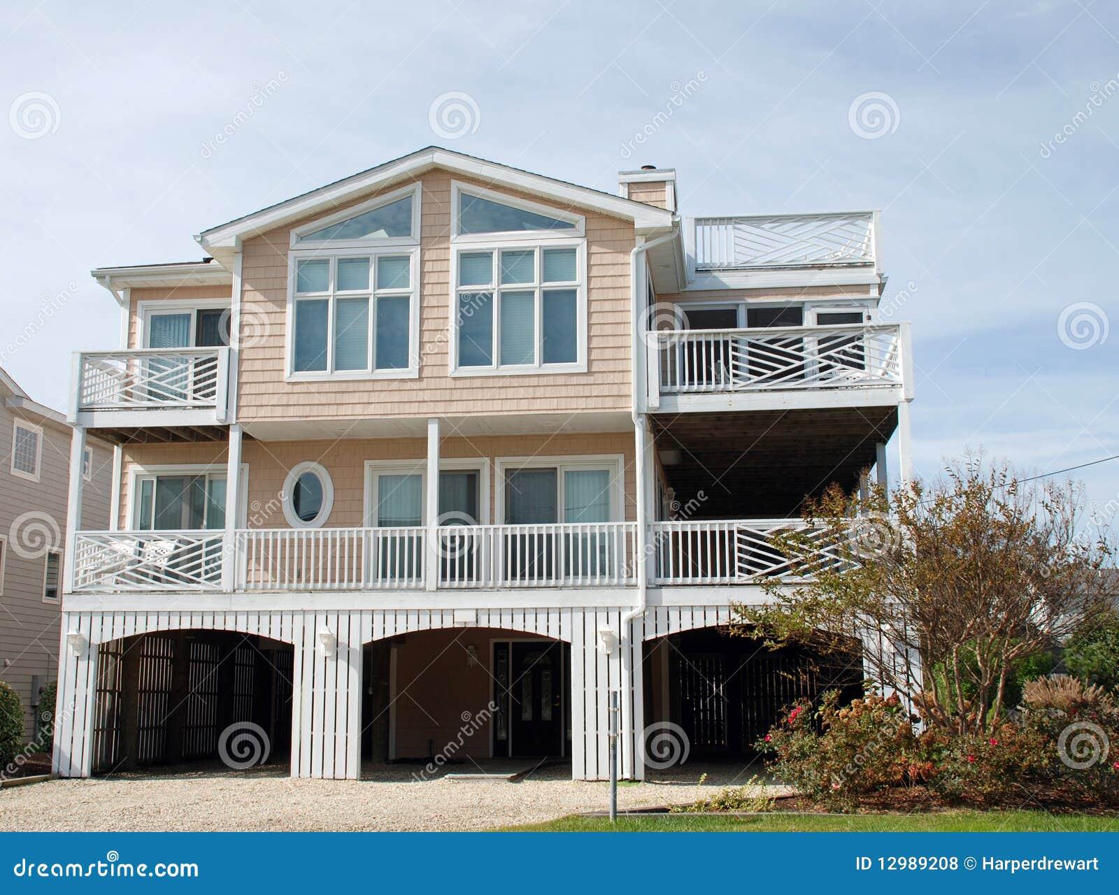 Coastal Luxury Home 70 Royalty Free Stock Photos Image