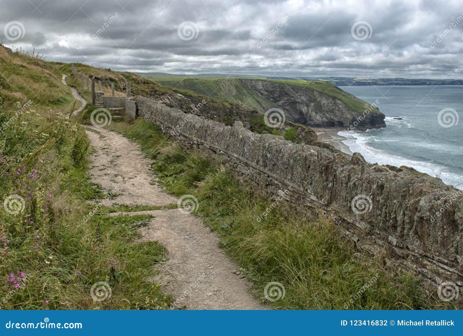 Coastal Path on the North Coast of Cornwall