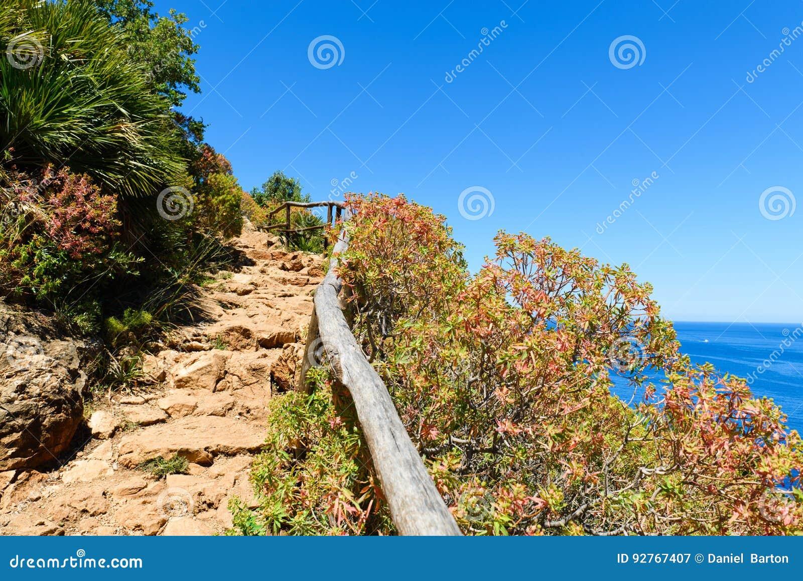 A coastal path