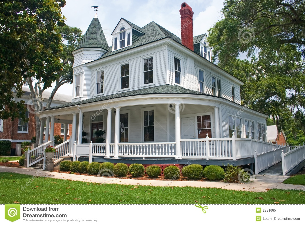 Coastal Victorian Home 1 Royalty Free Stock Photo Image