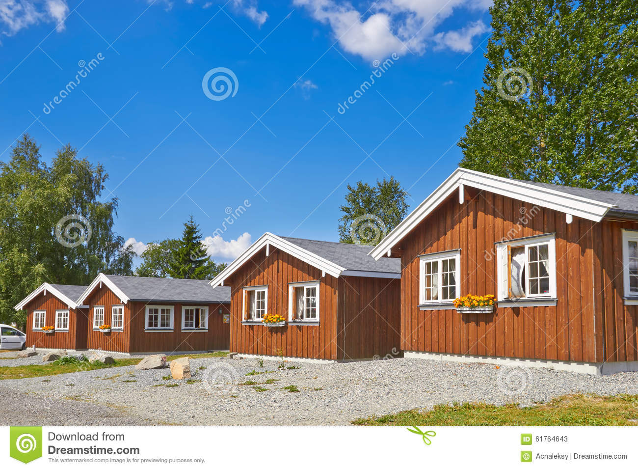 Coastal wooden houses stock photo image 61764643 for Norway wooden houses