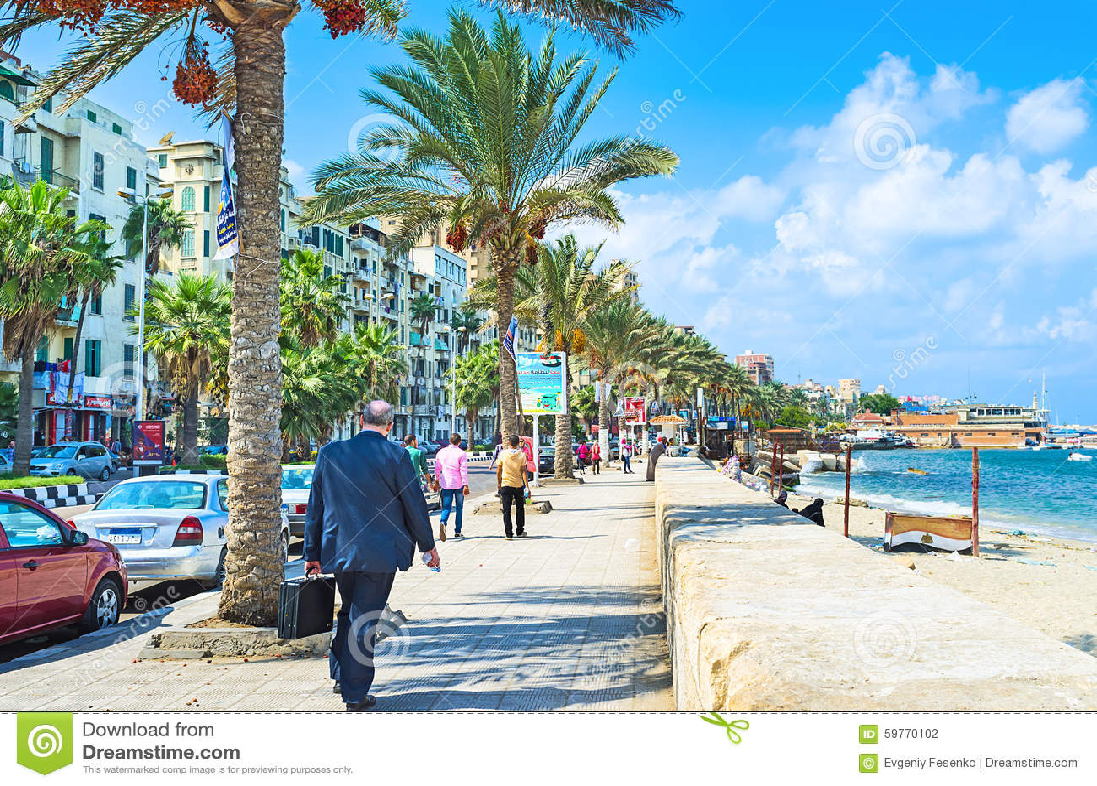 Cafes In Alexandria On The Beach