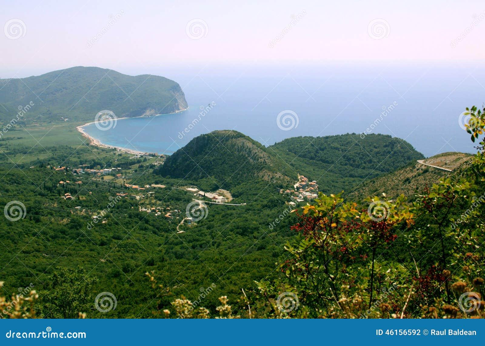 Coastline near Petrovac, Montenegro