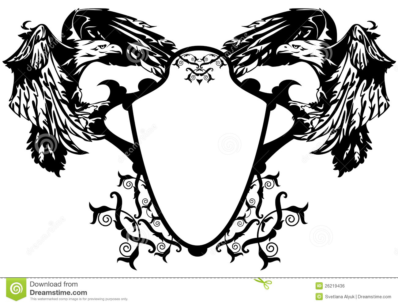 Coat Of Arms Eagles Vector