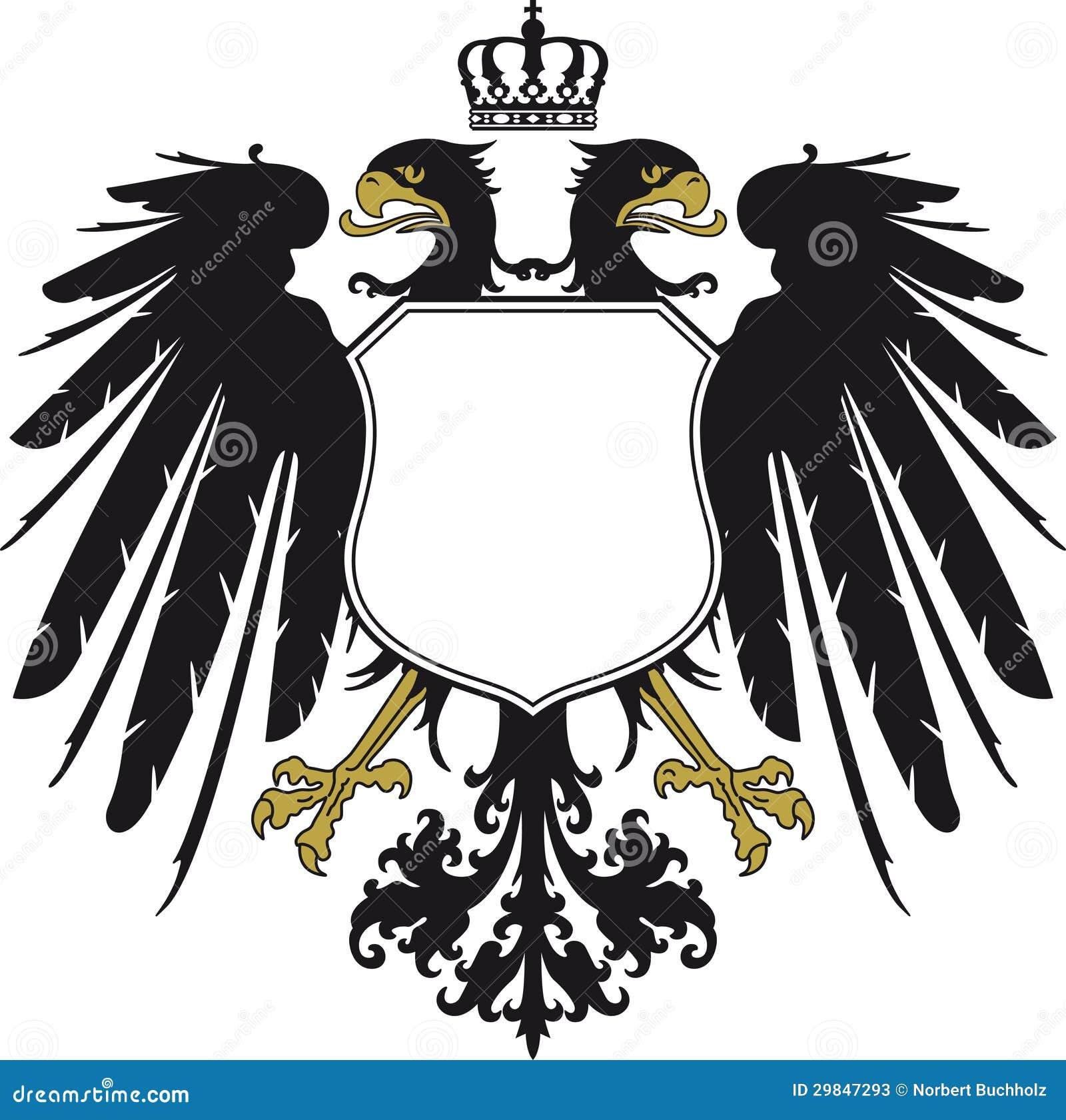 Double Headed Eagle Stock Vector Illustration Of Spread