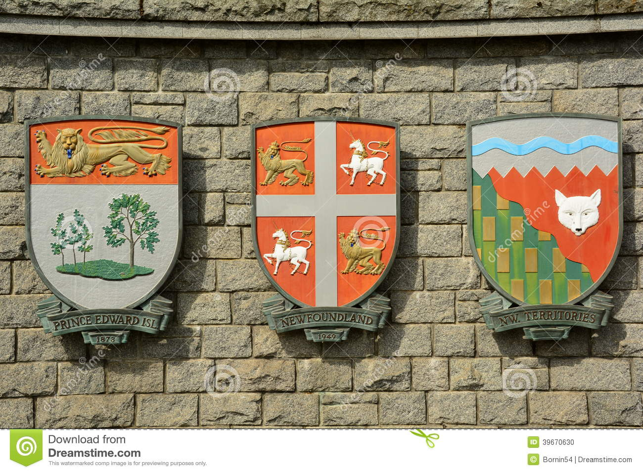 The coat of arms for the provinces of prince edward island royalty free stock photo biocorpaavc Choice Image