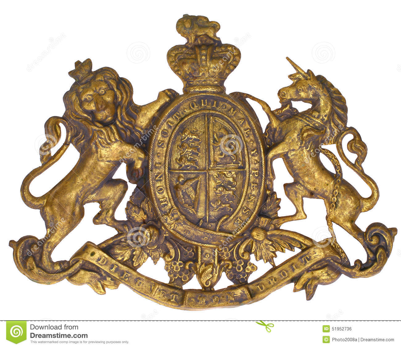 Download Coat of Arms Royal stock photo. Image of lion, coat, historical - 51952736