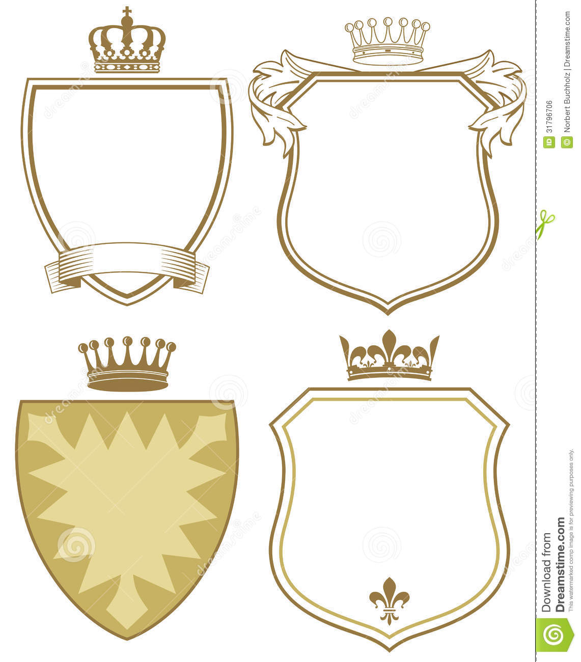 Black And White Coat Of Arms Template Coat of arms or shields