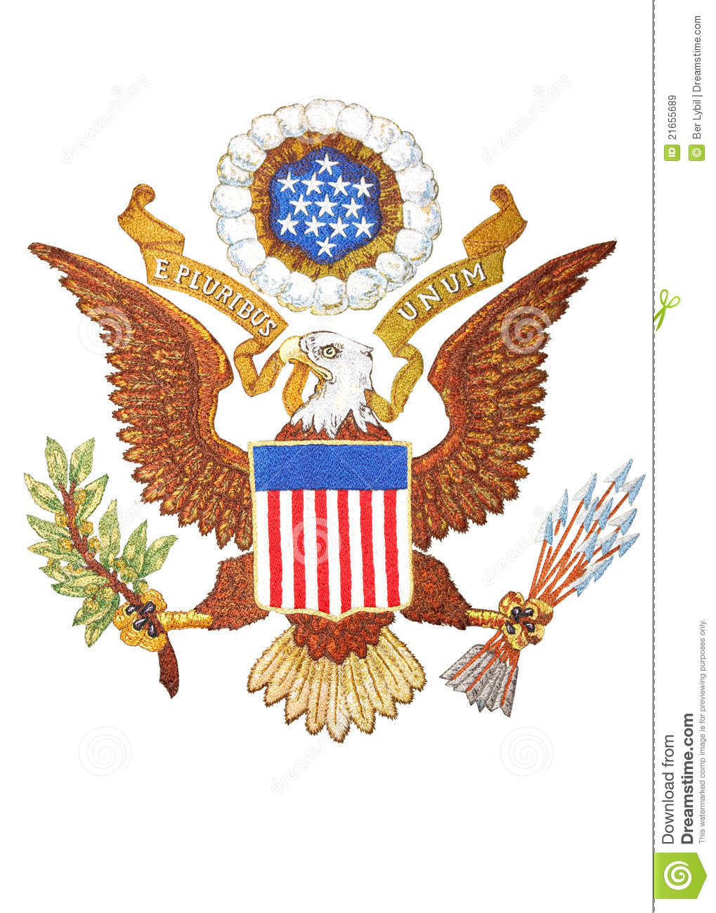 Coat of arms of United States of America