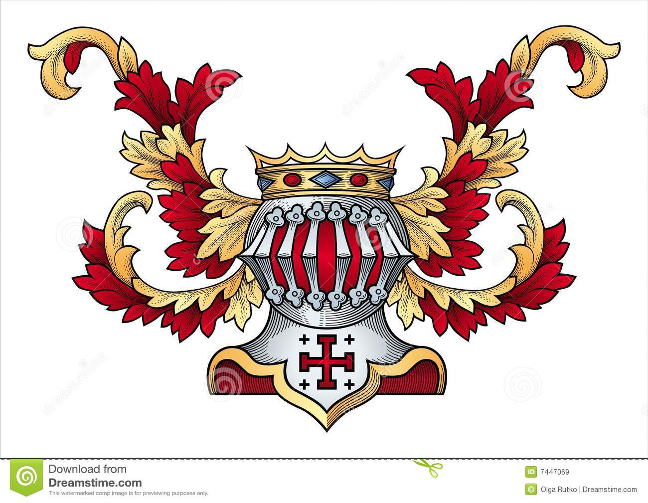 Vector Coat Of Arms Stock Photos - Image: 3478053