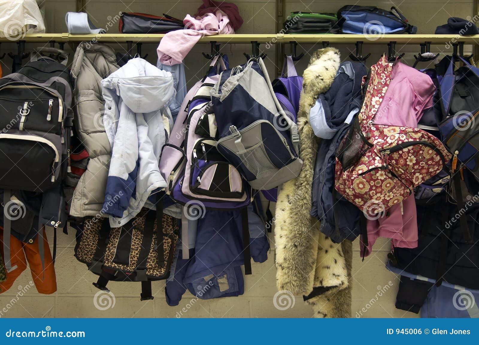 coat rack stock photo  image of rack  class  school