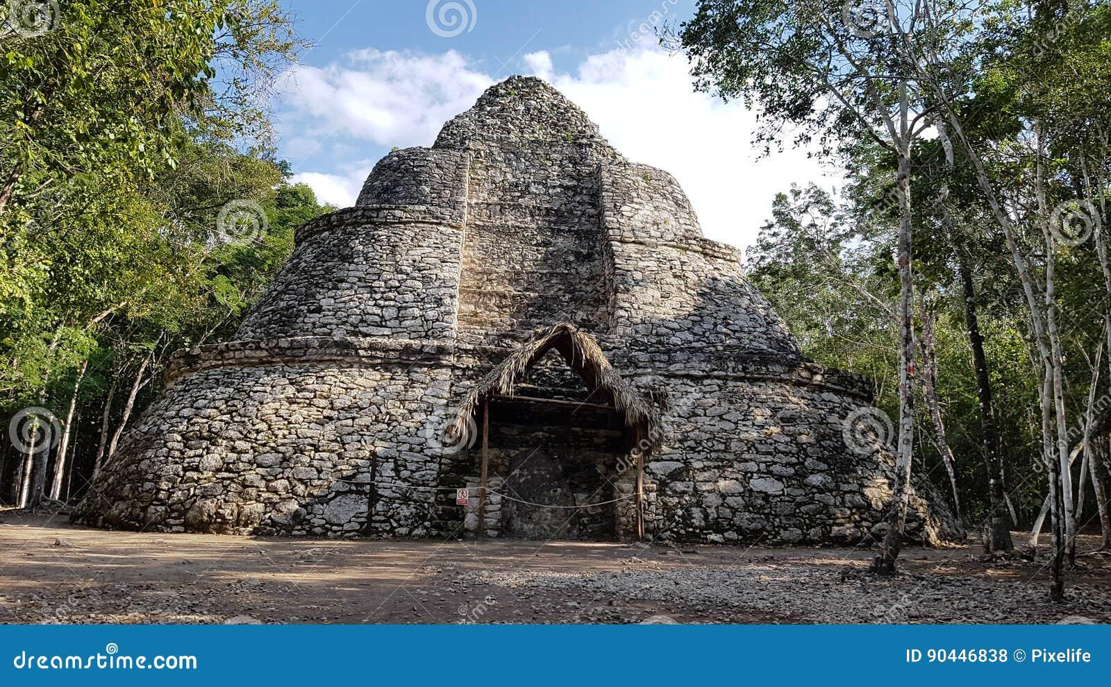 The Coba ruins