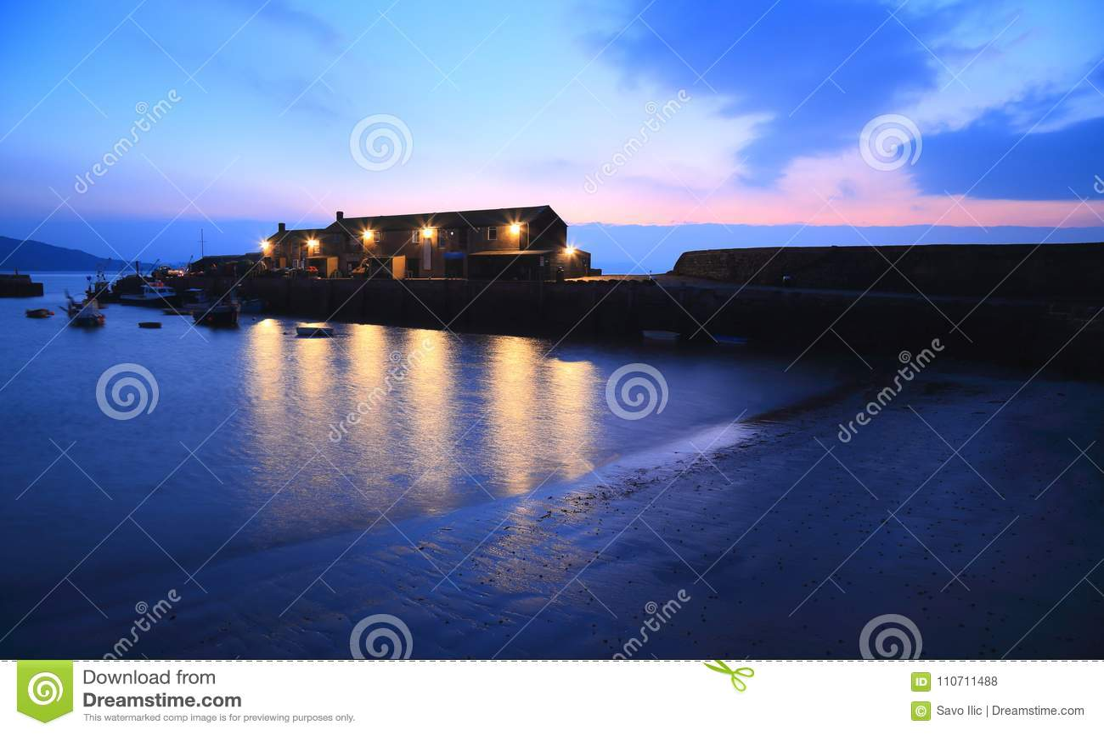 Cobben i Lyme Regis