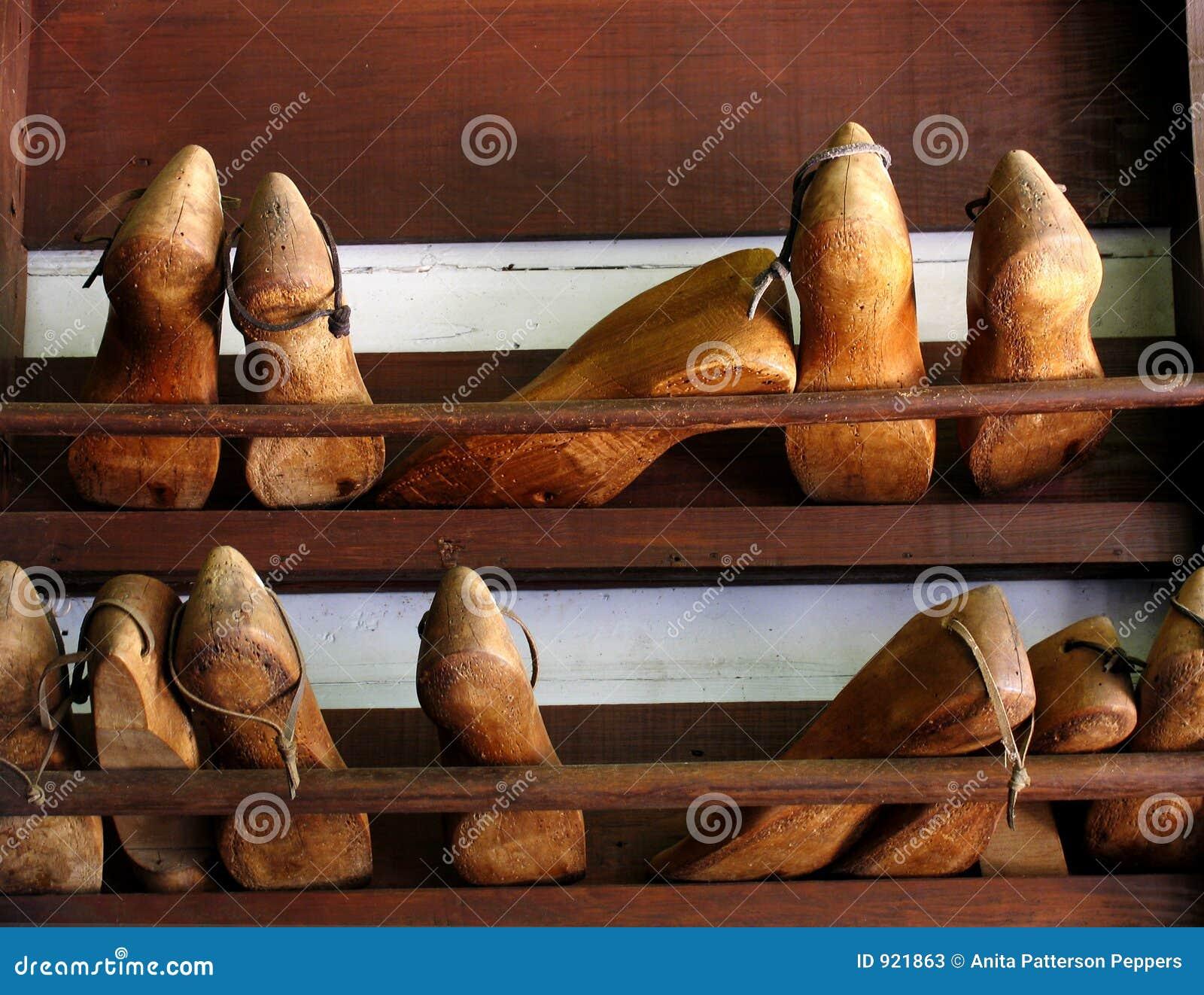 Cobbler shoe forms