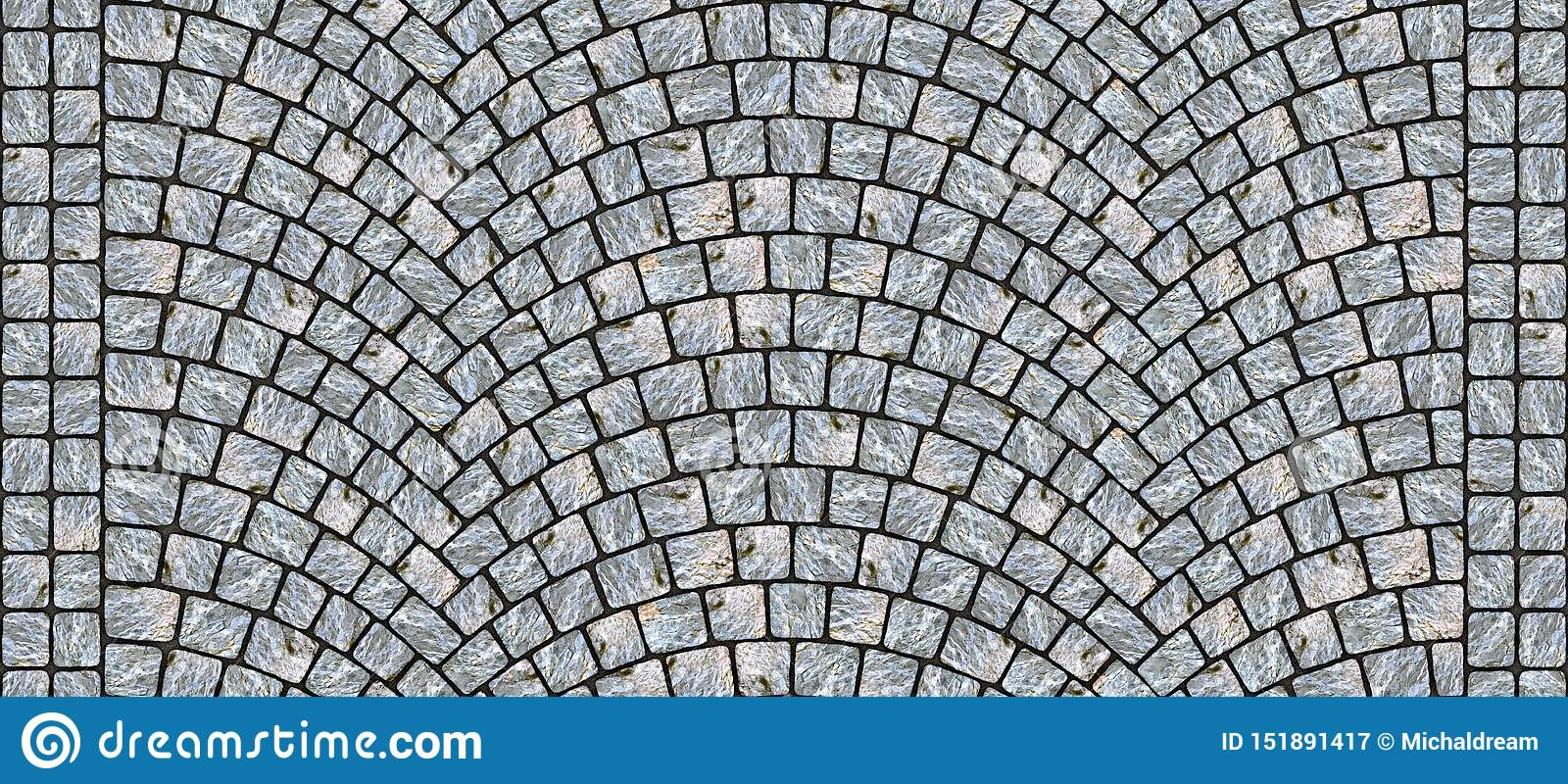 Road curved cobblestone texture 118