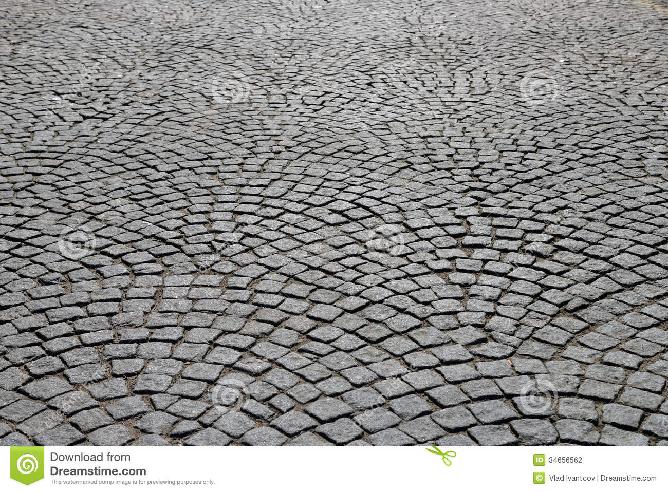 Cobblestone Pavement Stock Photo Image Of Pavement