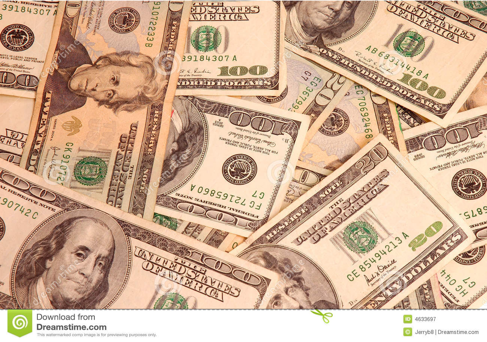 Cobertor de contas americanas
