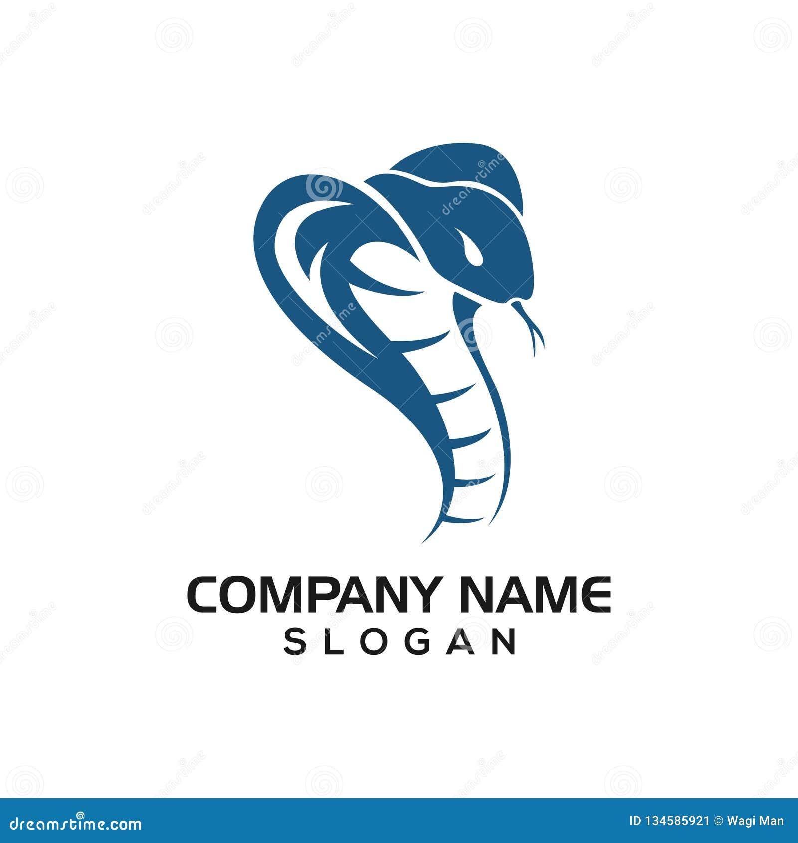 Cobra pour la ressource graphique d icône de logo de variété