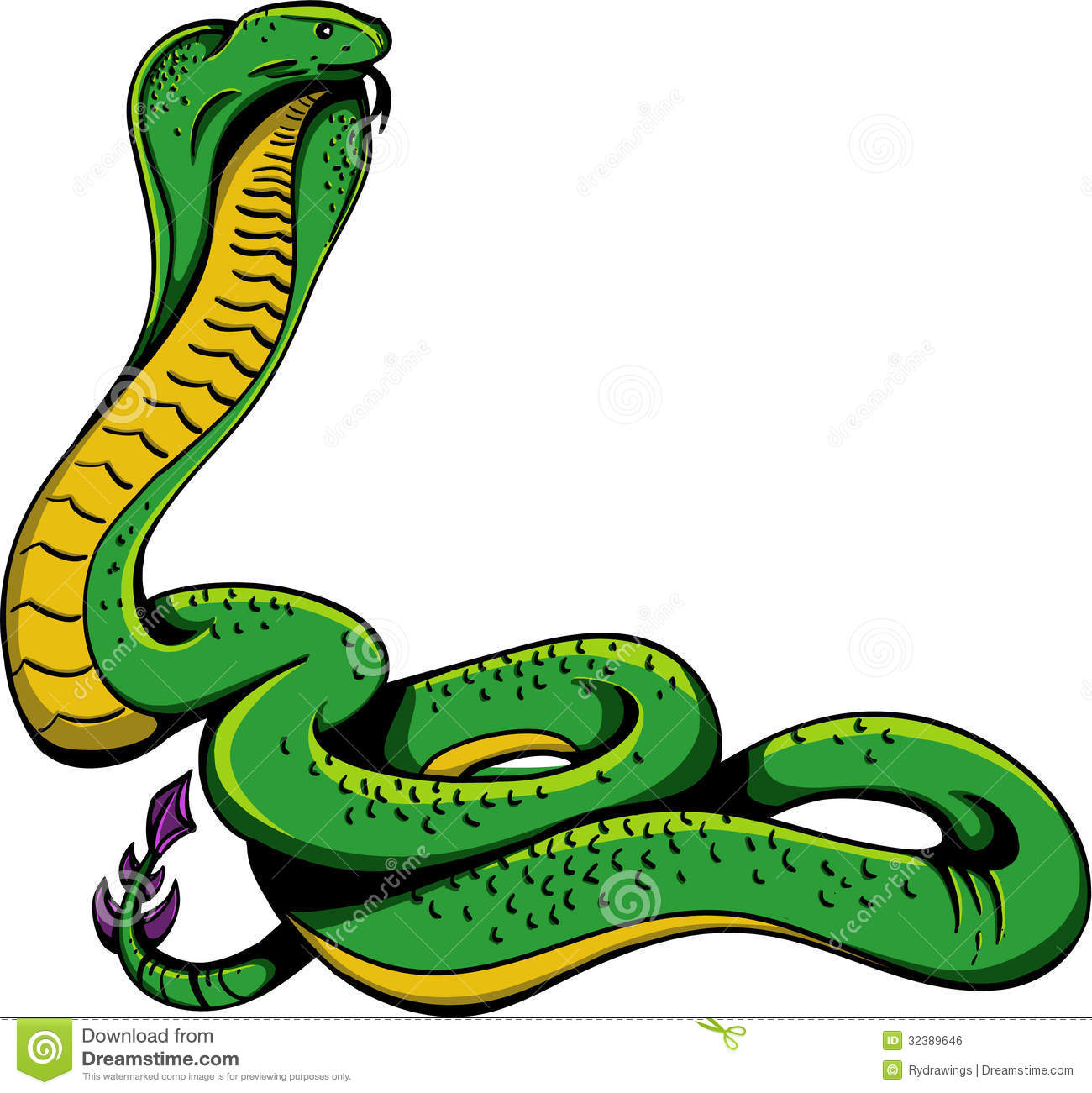 Cobra Snake Royalty Free Stock Image - Image: 32389646