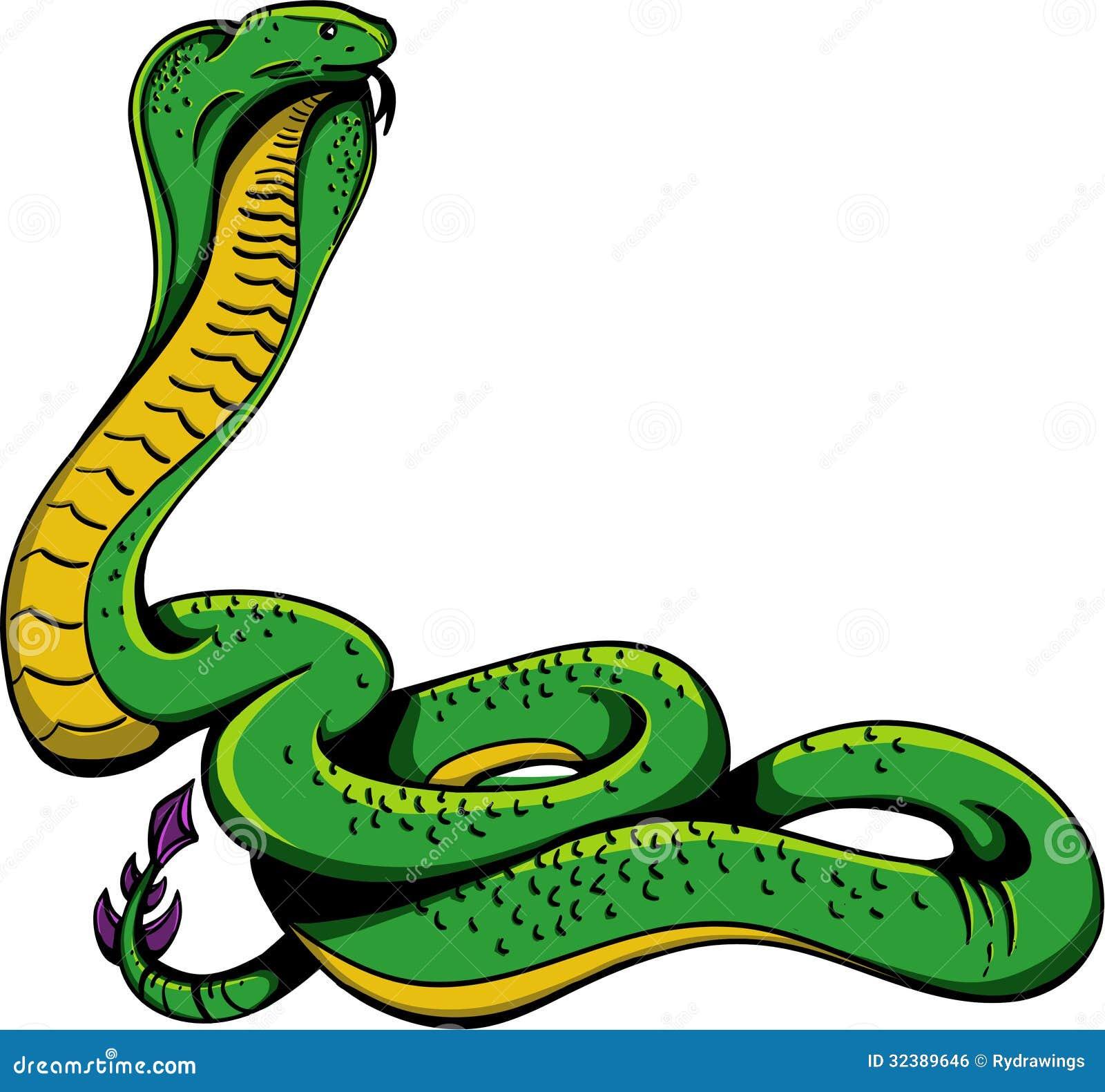 Cobra Snake stock illustration. Illustration of character ...