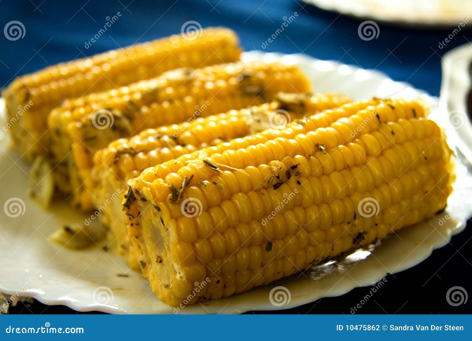 Cobs lagade mat maisplattan