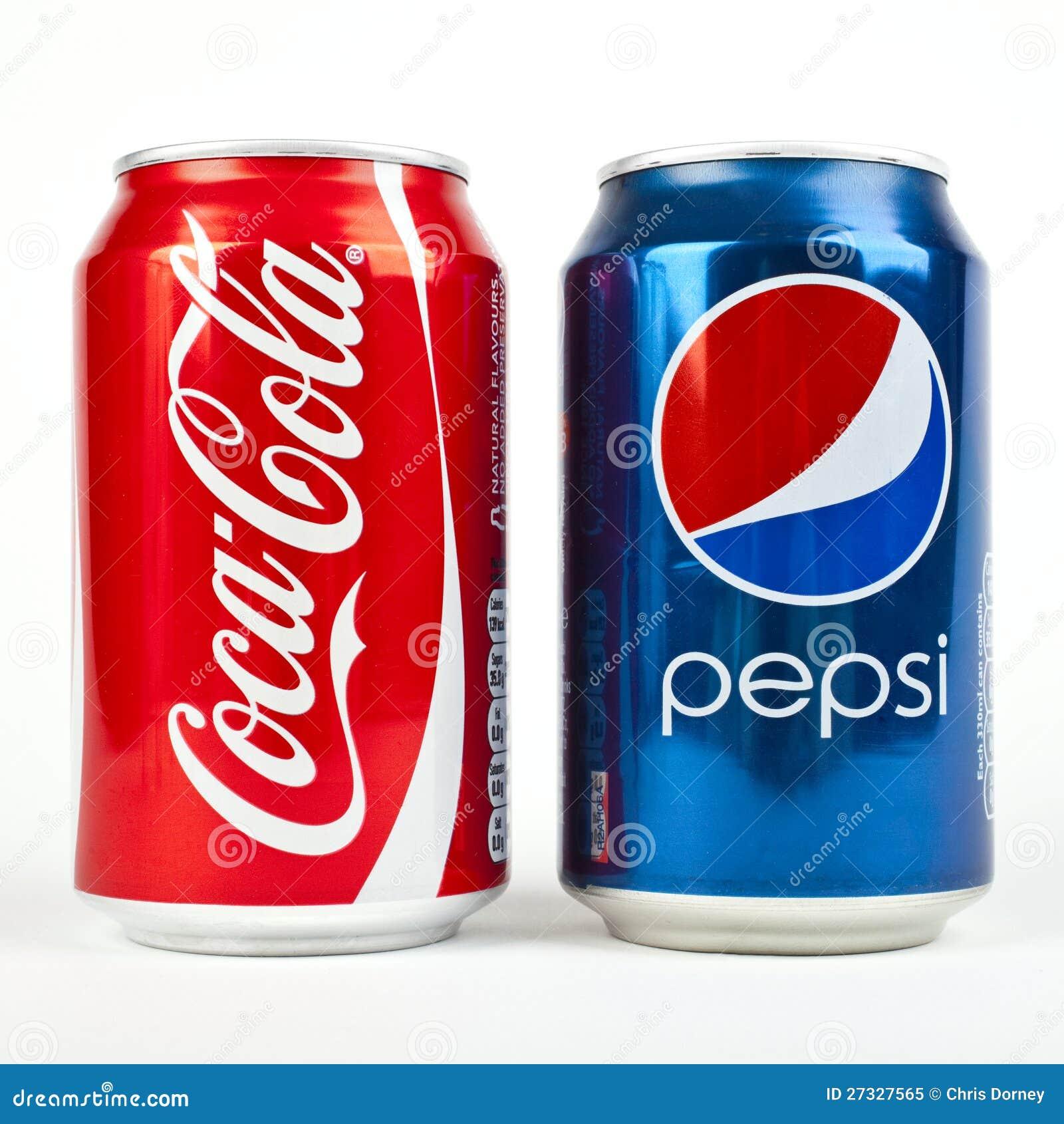 coca cola gegen pepsi redaktionelles bild bild 27327565. Black Bedroom Furniture Sets. Home Design Ideas