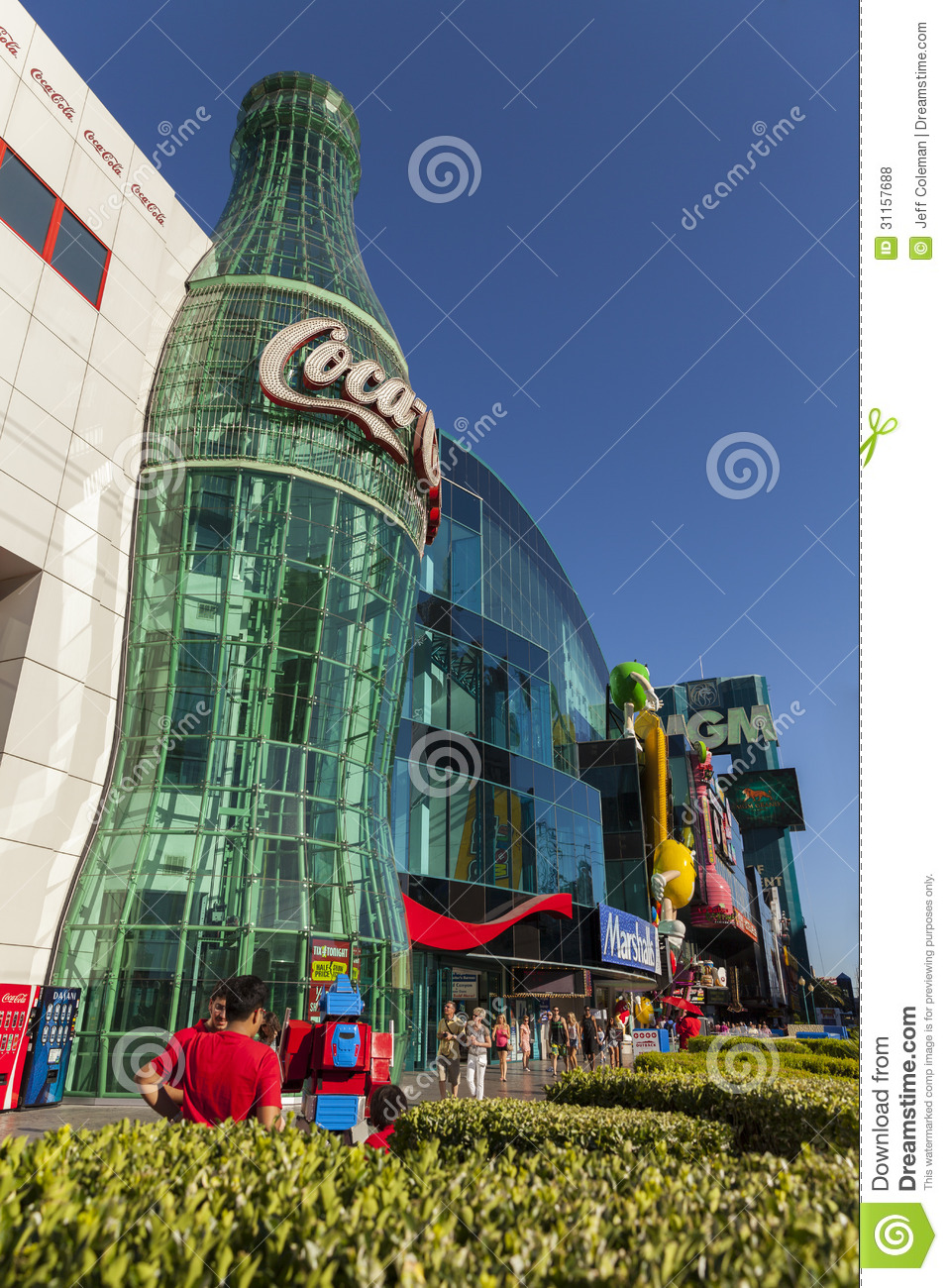 Coca Cola Store In Las Vegas Nv On May 20 2013 Editorial
