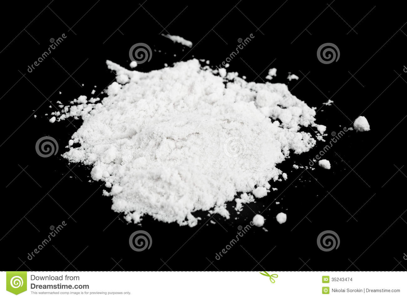 Cocaine Stock Images Image 35243474
