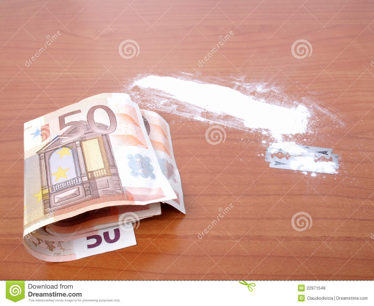 Cocaine Powder Stock Photo Image Of Flour Addicted