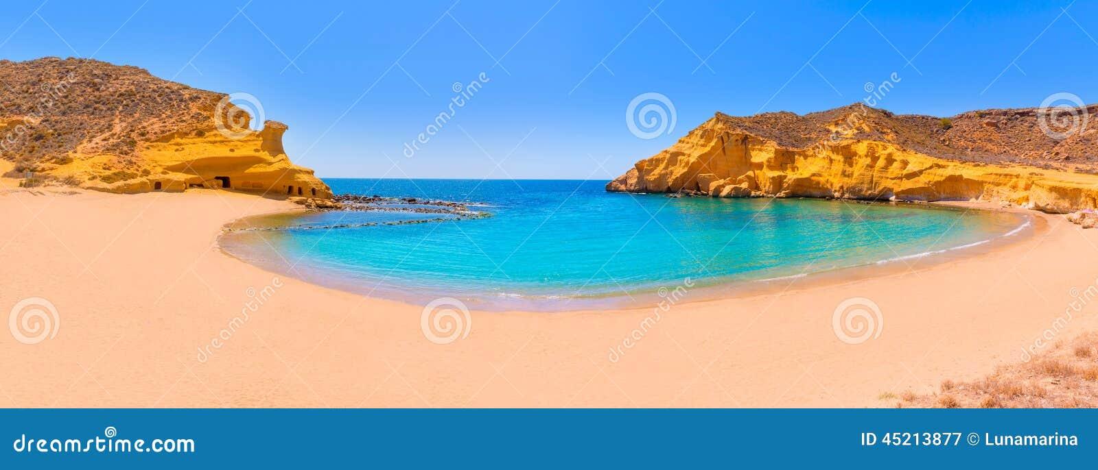 Aguilas Spain  city photos gallery : ... Beach In Murcia Near Aguilas Spain Stock Photo Image: 45213877
