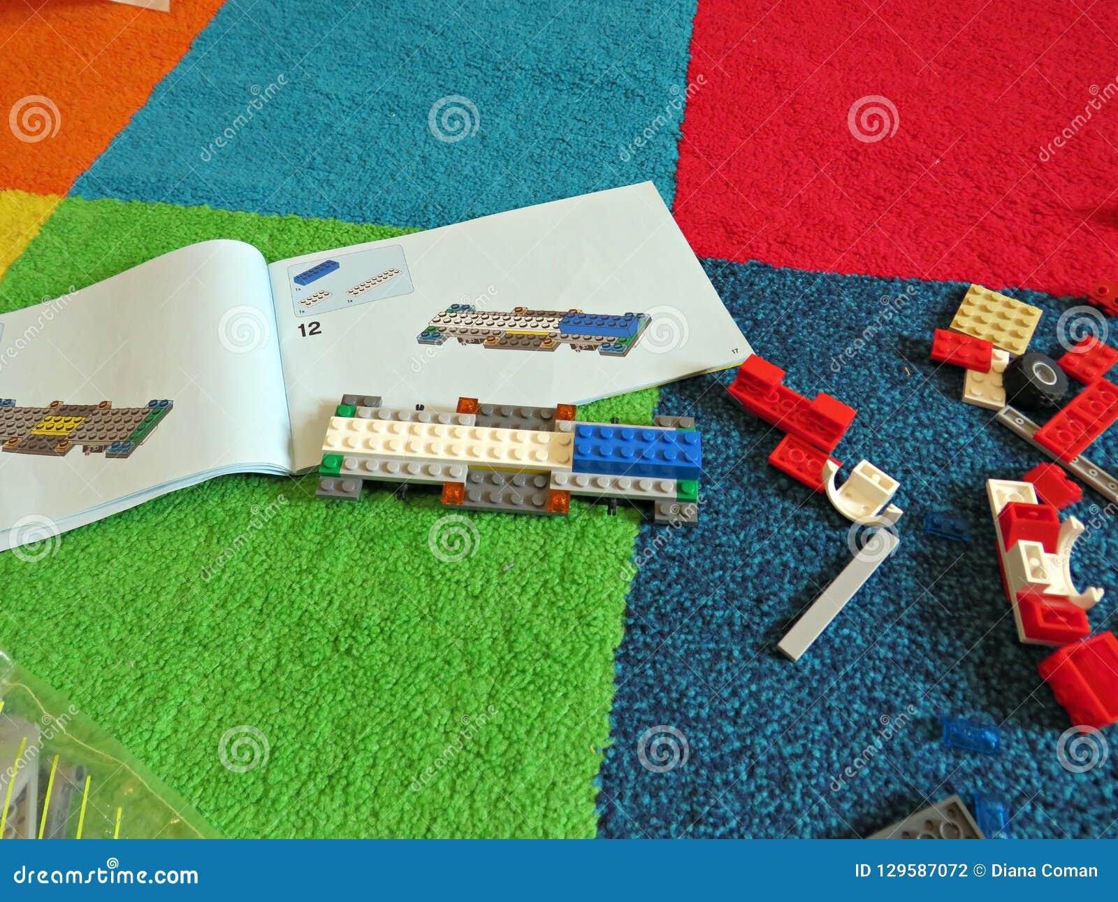 Coche constructivo del lego