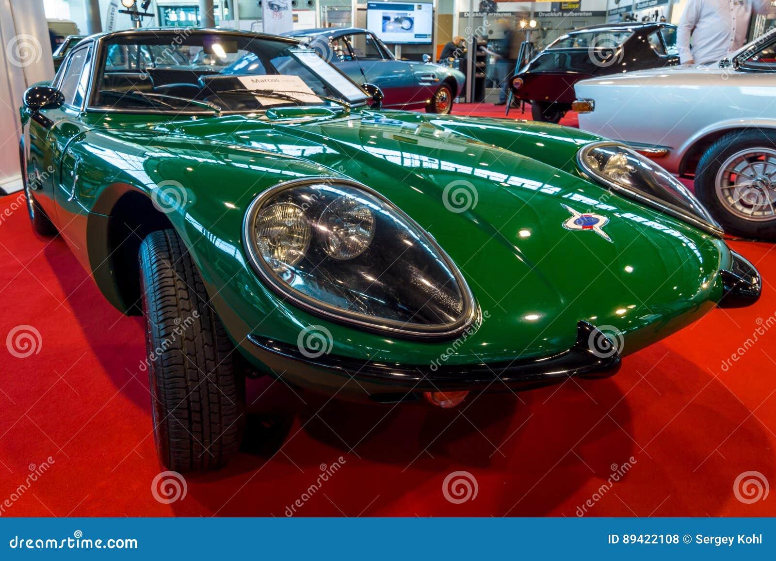 Coche De Deportes Marcos 1500 GT, 1967 Foto de archivo editorial ...