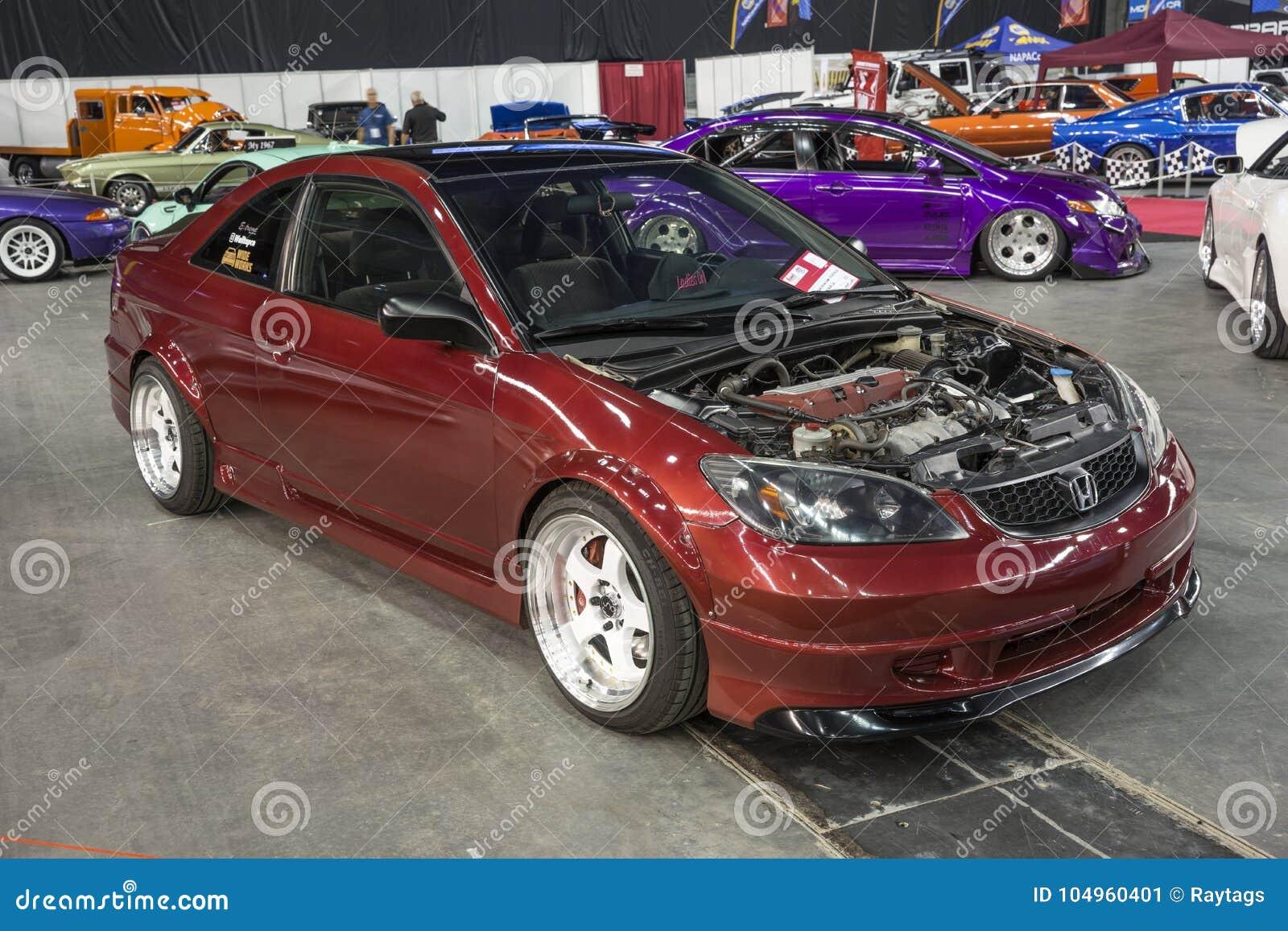 Coche de Honda sin la capilla