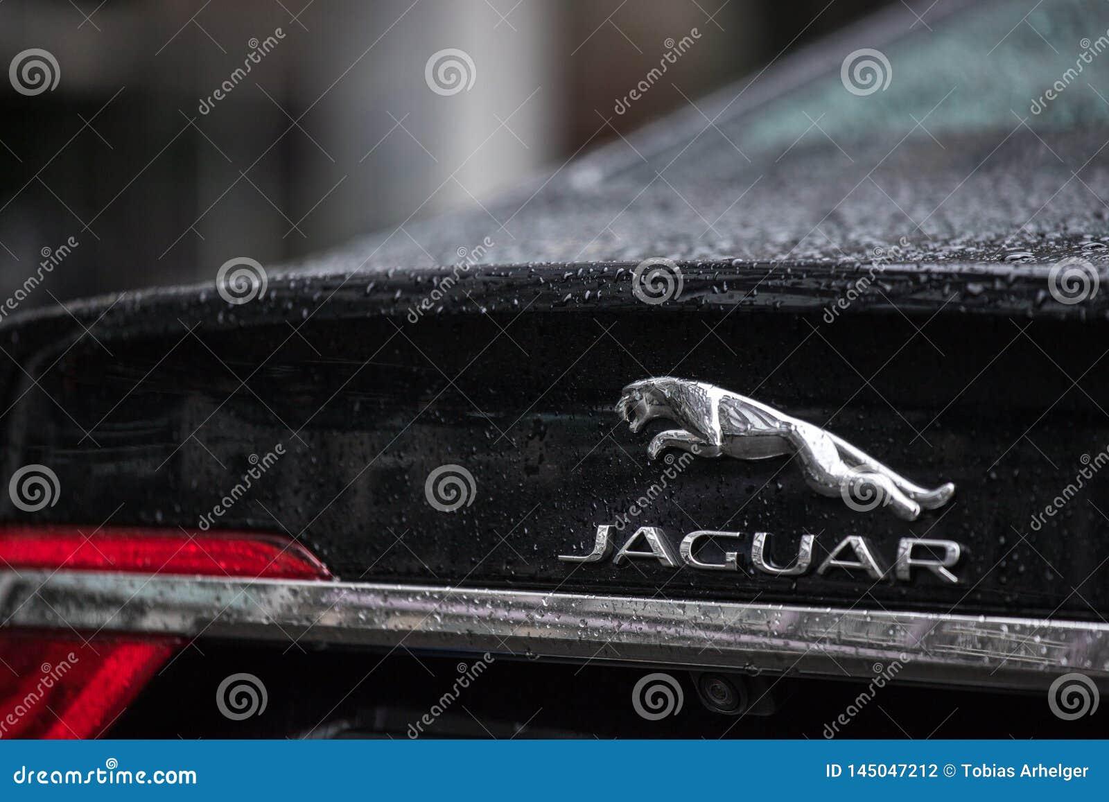 Coche de Jaguar en Berlín Alemania