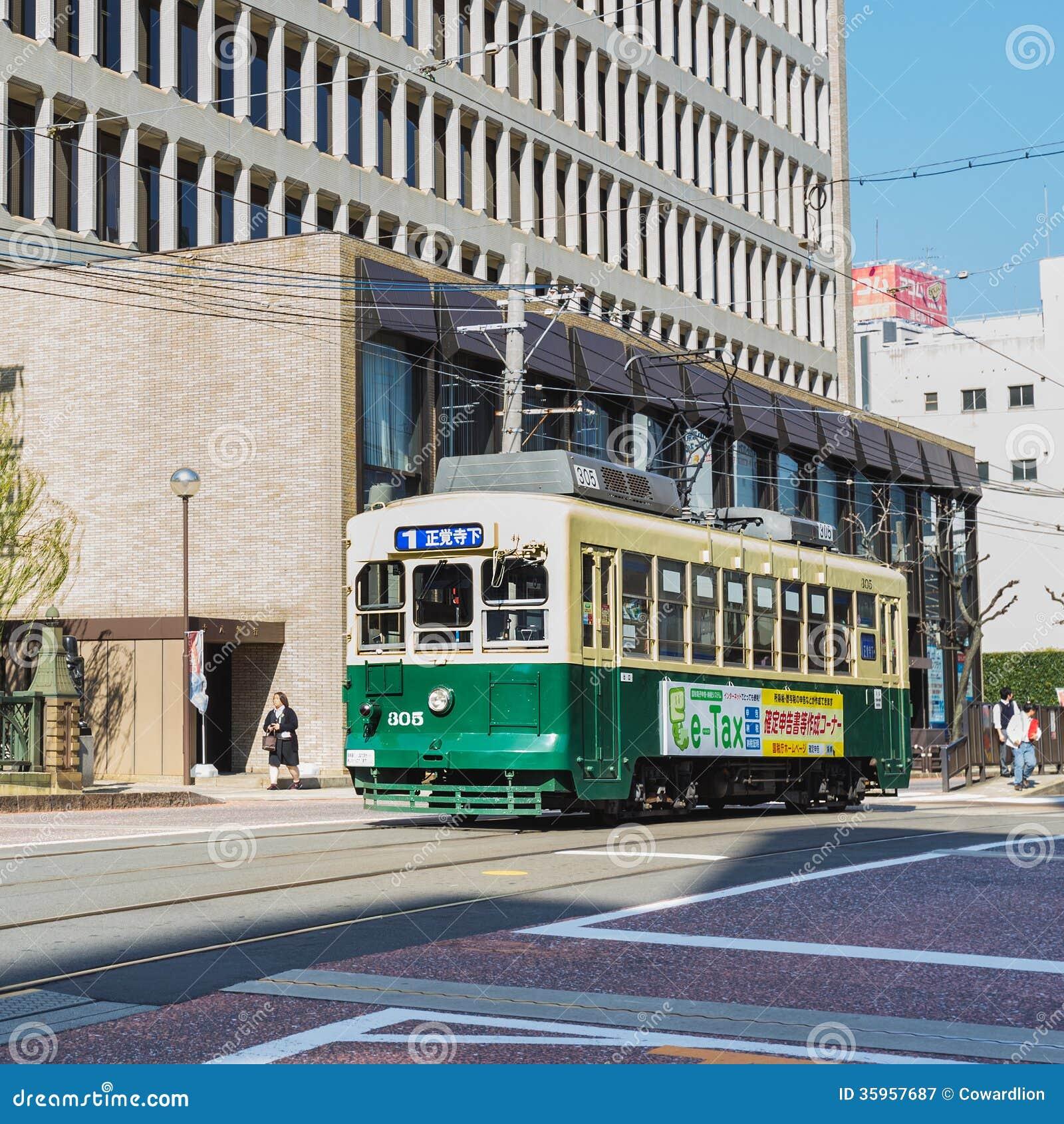 Coche de la calle en Nagasaki