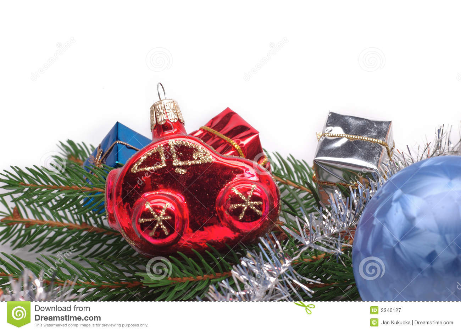 Coche de la Navidad