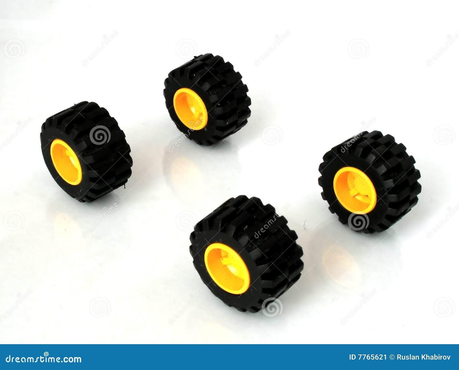 Coche de la rueda