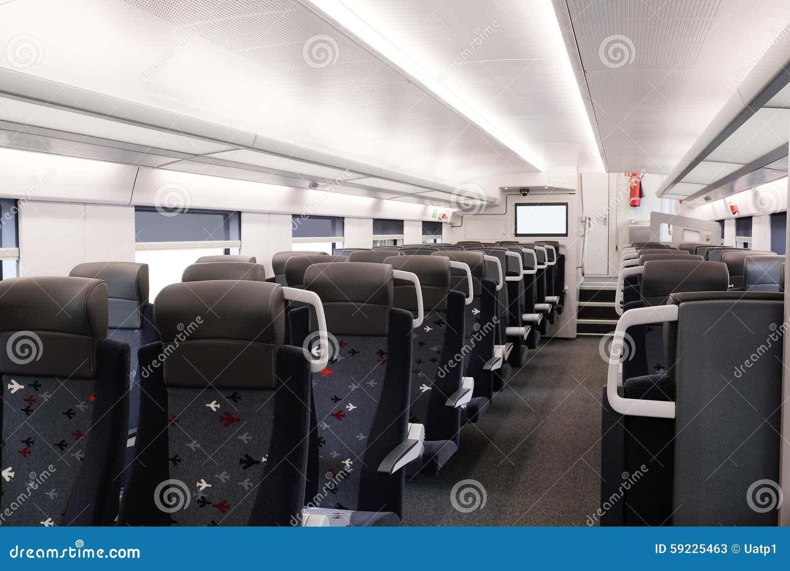 Download Coche de pasajero del tren imagen de archivo. Imagen de compartimiento - 59225463