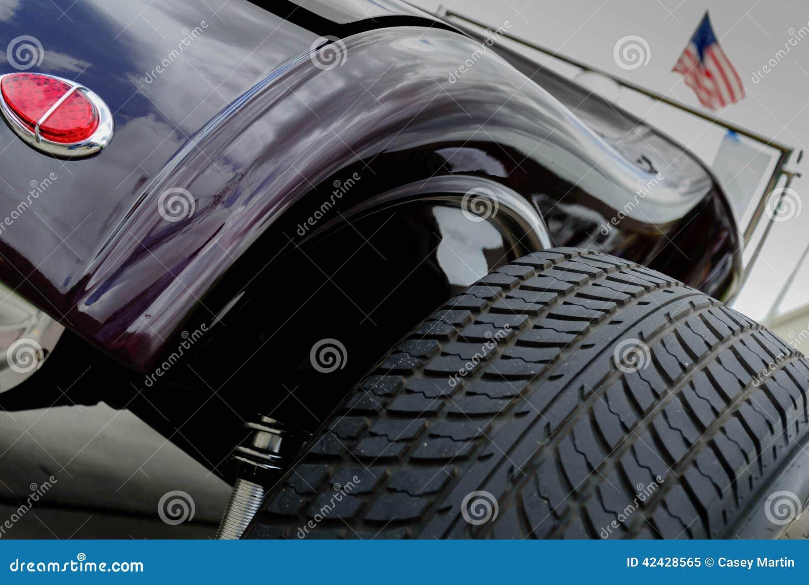 Coche del equipo del automóvil descubierto del vado de los años 30