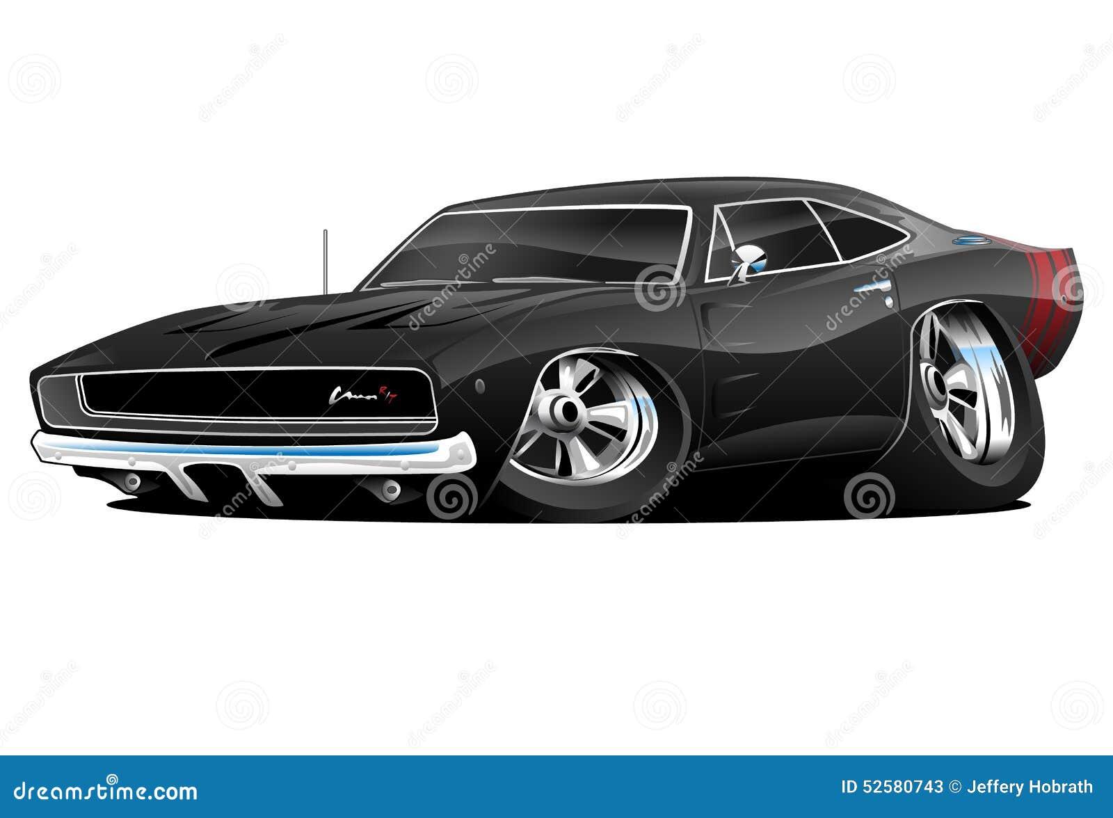 68 coche del músculo del cargador R/T
