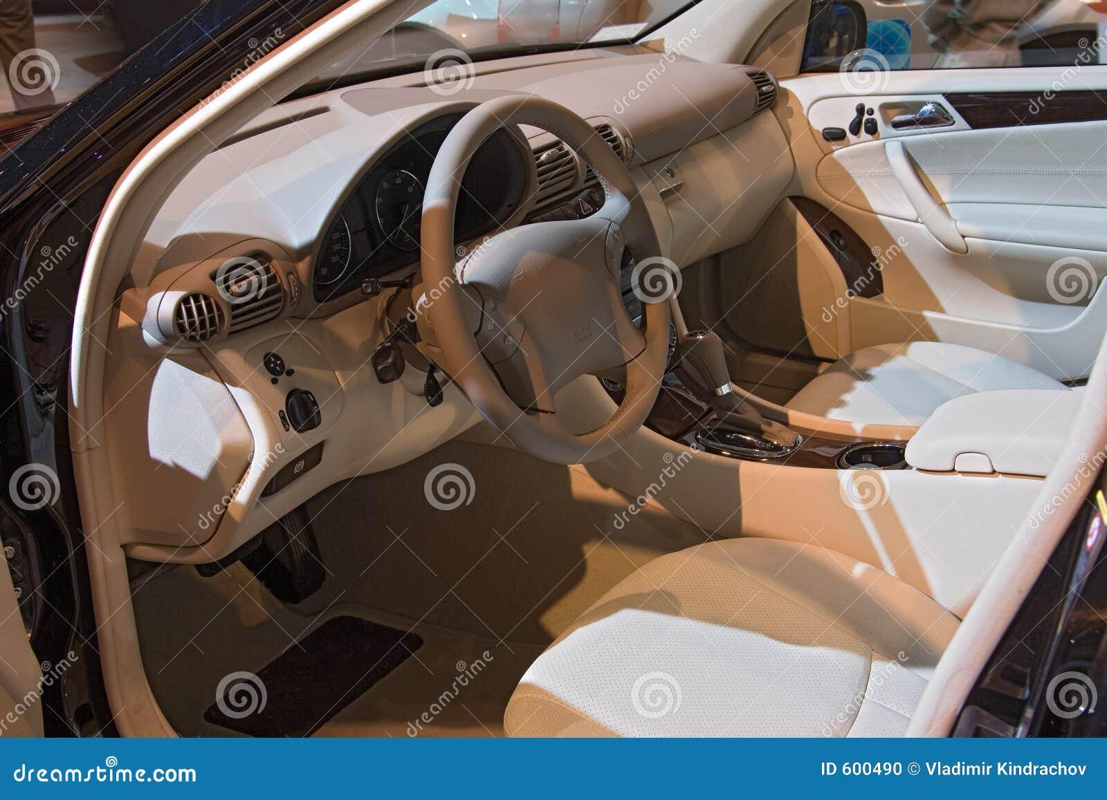 Coche interior de la demostración auto del transporte 048