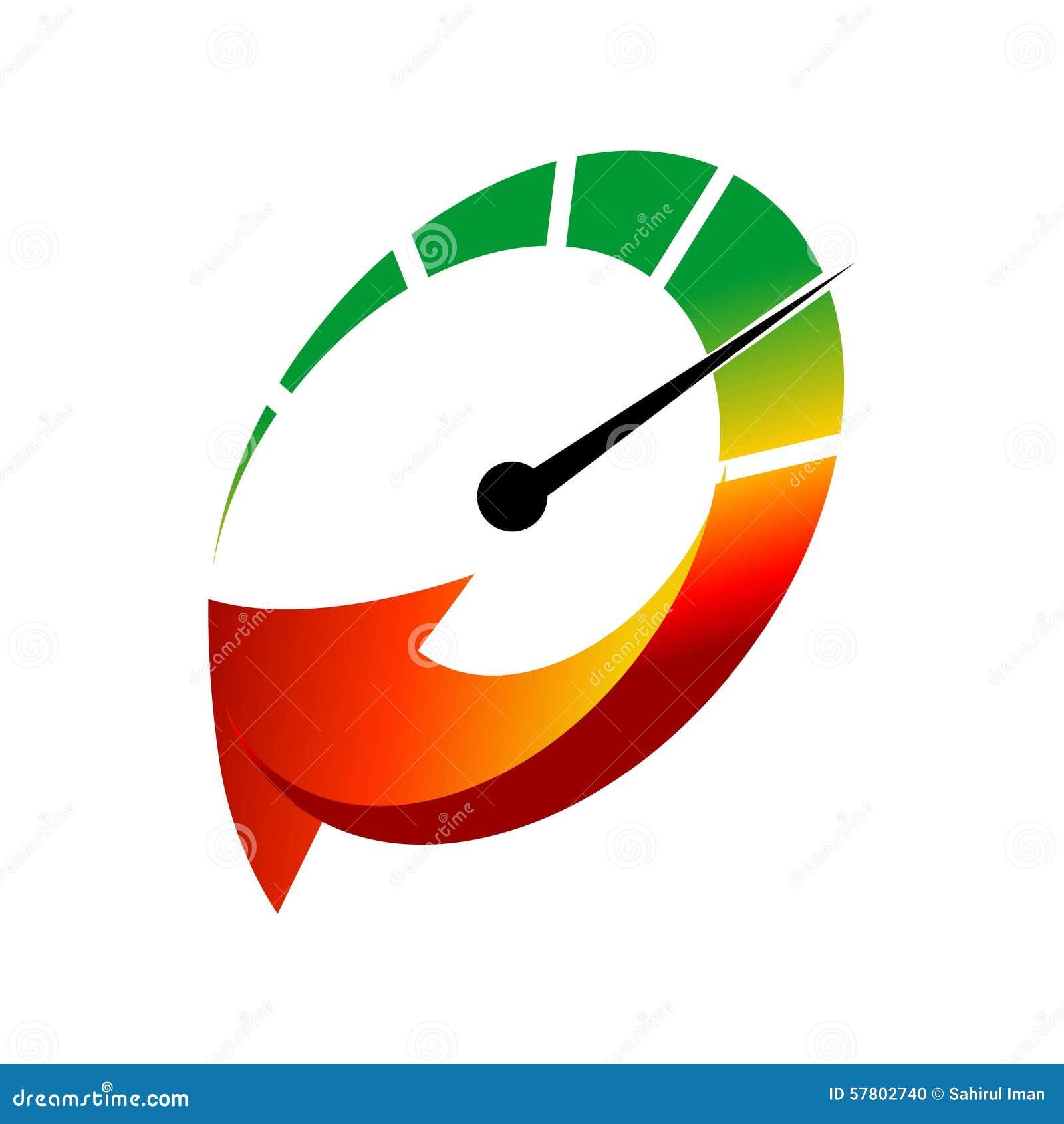 Coche Logo TemplateWith Flat Color Ilustración del Vector ...