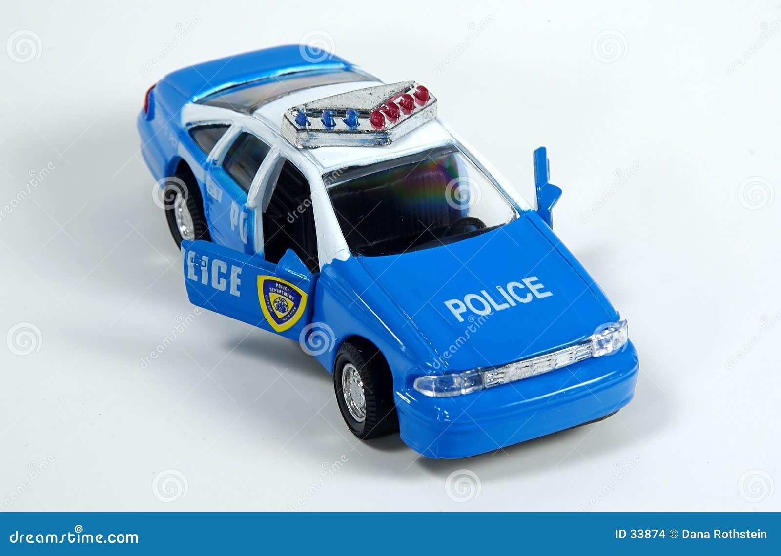 Download Coche policía del juguete foto de archivo. Imagen de detención - 33874