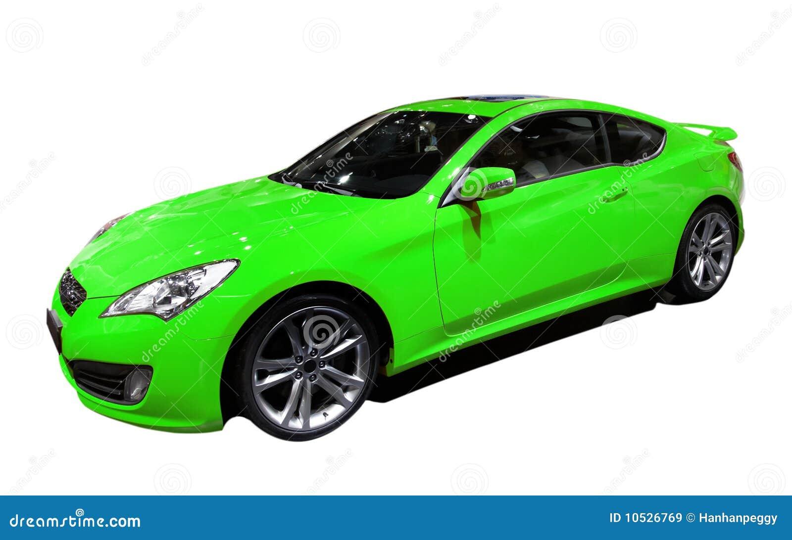 Coche verde
