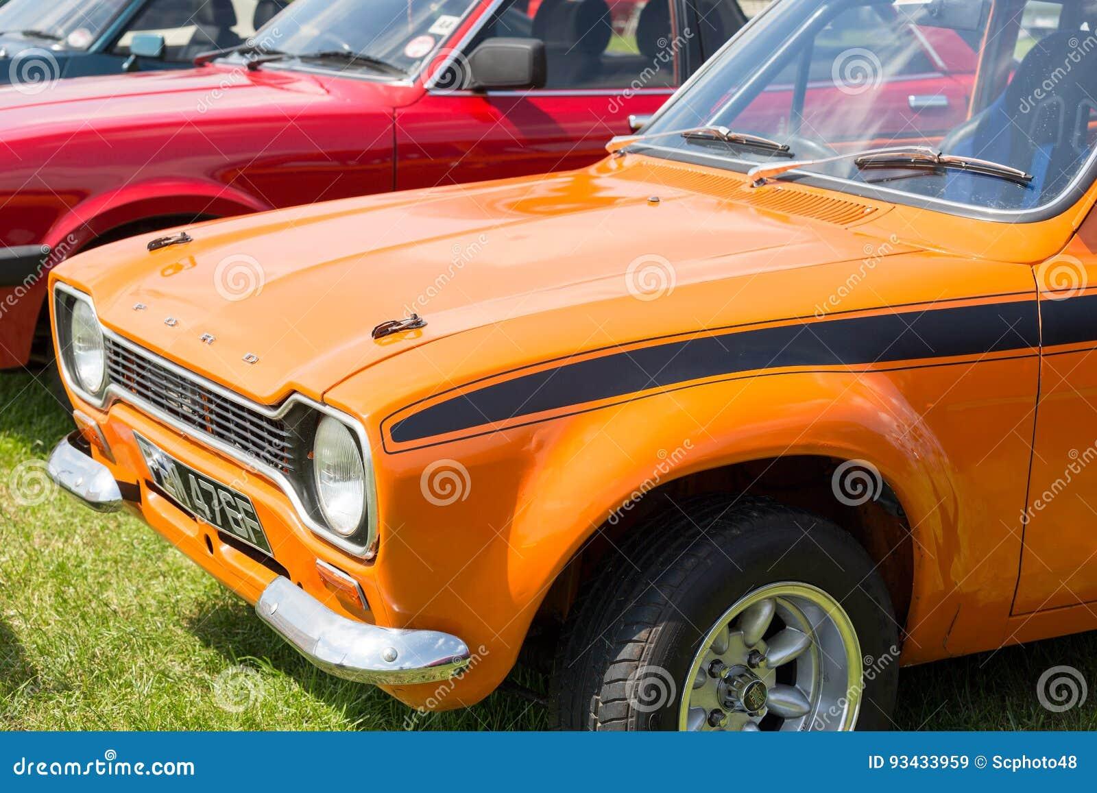 Coche viejo de Ford Escort México