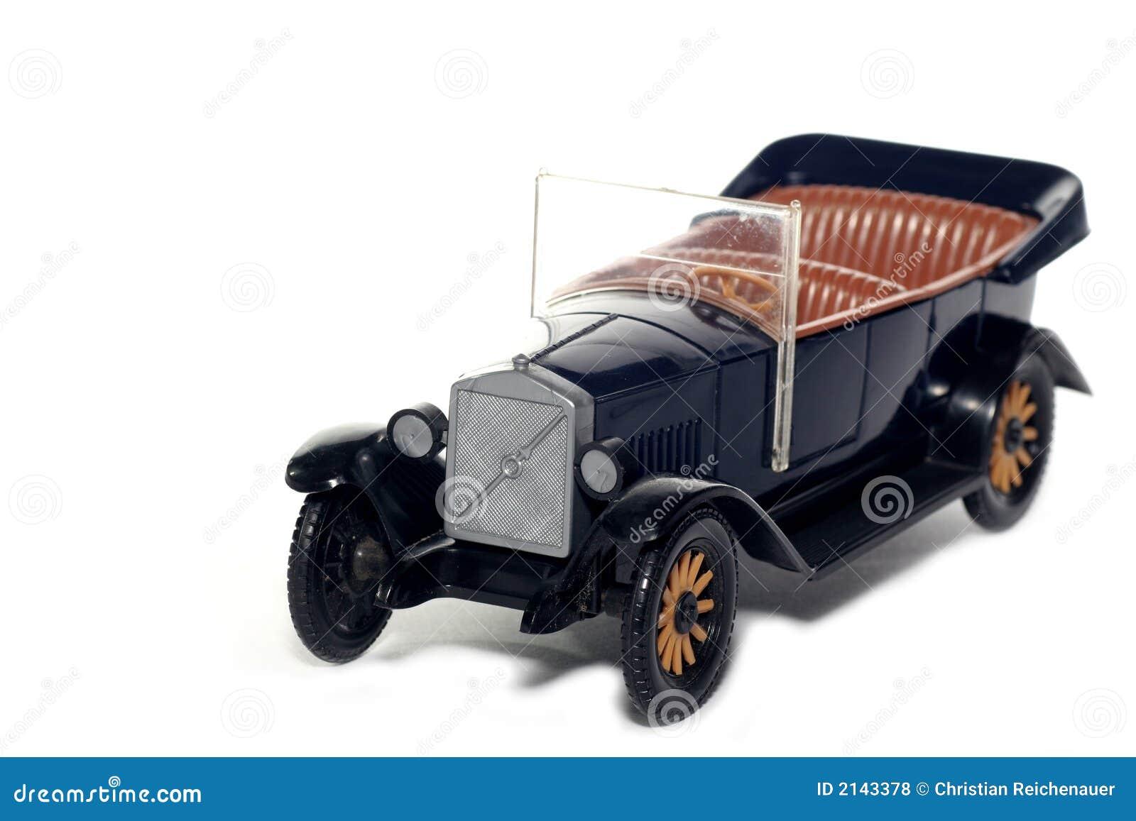 Coche viejo Volvo Jacobo 1927 del juguete
